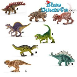 8 mini dinosaurs to collect (Schleich/ 14579)