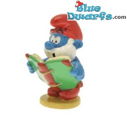 pixi06438: Papa Smurf with book (2012)