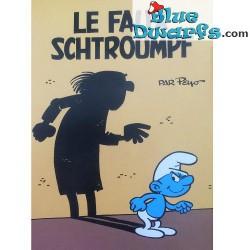 Ansichtkaart: Le faux Schtroumpf (15 x 10,5 cm)