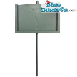 40208: Sign bearer Smurf *shield only*