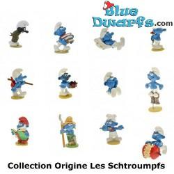 12 x Schlumpf Pixi Origin I, 2012 (komplettes Set)