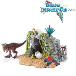 Large Dinosaur set with cave (Schleich/42261)