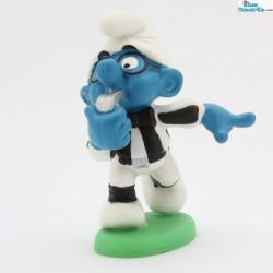 20191: Referee smurf (no grass/ Matte paint version)