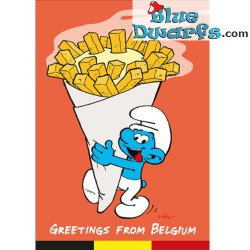 Postcard: Greetings from Belgium (15 x 10,5 cm)