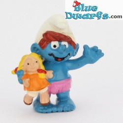 20446: Doll, Child smurf with (1997)