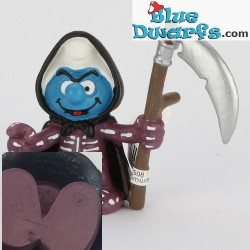 20545: Grim Reaper Smurf (Halloween 2006/ Am Limes 2016 style)