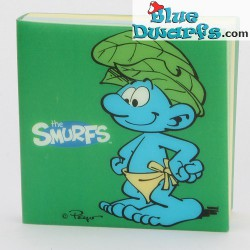 Notebook Jungle Smurf  (8.5 x 8.5 cm)