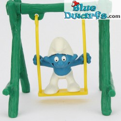 Smurf on swing (Smurf in bag)