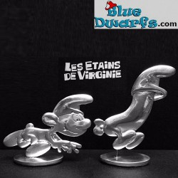 Les étains de Virginie: Smurf with running hotdog (2016)