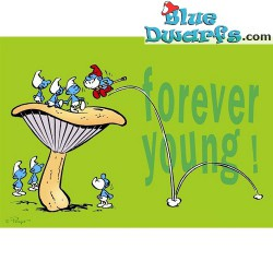 Carte postale: Forever Young! (15 x 10,5 cm)