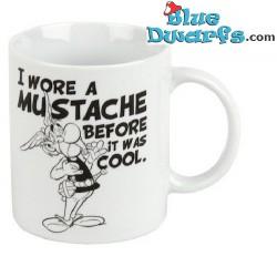 """Asterix and Obelix mug: Asterix """"I wore a Mustache..."""" (0,3L)"""