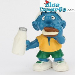20463: Smurf with Sandwich (Shiny variant, 2000)