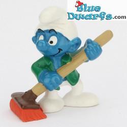 20462: Care Taker Smurf (Shiny variant, 2000)