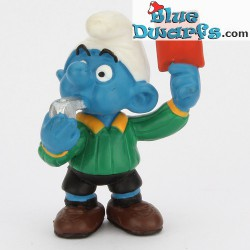 20472: Referee smurf (Matte paint version, 2001)
