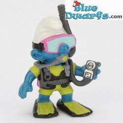 20466: Scuba-Diver Smurf (Shiny variant, 2000)