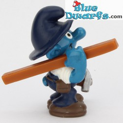 20471: Carpenter Smurf  (Shiny variant, 2001)
