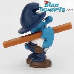 20471: Carpenter Smurf  (matt variant, 2001)