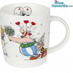 Asterix und Obelix Tasse: Obelix in Love (0,38l)