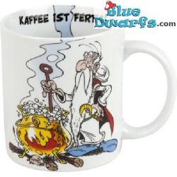 """Asterix und Obelix Tasse: """"Kaffee ist fertig"""" (0,3L)"""