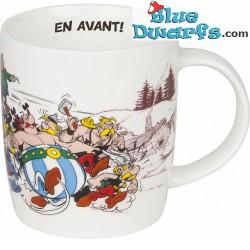 """Asterix und Obelix Tasse: """"En avant!"""" (0,38L)"""