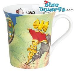 "Asterix and Obelix mug: ""The village wall"" (0,41L)"