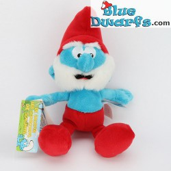 Smurf Plush: Papa smurf *Puppy/Jakks Pacific* (beaniebag/+/- 20 cm)