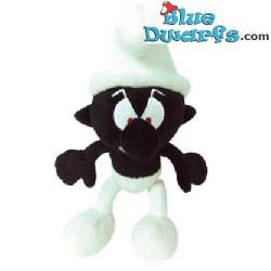 Smurf Plush: Black smurf (+/- 20 cm)