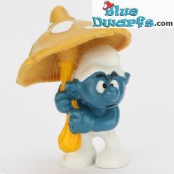 20118: Umbrella Smurf (yellow)