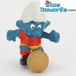 20035: Footballer Smurf *mustard ball*
