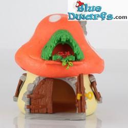 40001: Old Schleich House Smurf big (NO BOX) VG