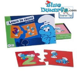 Smurf game *Learn to count*  (boardgame)