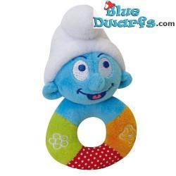 Smurf Plush: Baby smurf *rattle* (13 x 8 cm)