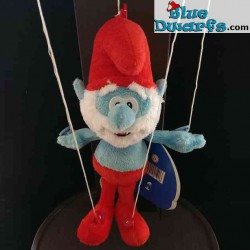 Juguete de peluche pitufos: Papa pitufo * Marioneta* (+/- 25 cm)