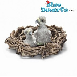 Schleich Animals: Baby eagles in nest (Schleich/ 14635/ OUT 2015)