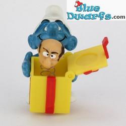 40247: Gargamel in gift box, Smurf with