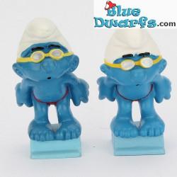 20440: Swimmer Smurf (1996) SHINY