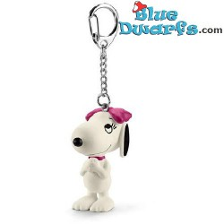 Belle charming *keyring* (peanuts/ Snoopy, 22038)