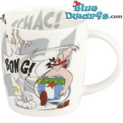 """Asterix and Obelix mug: """"Roman shield"""" (0,41L)"""