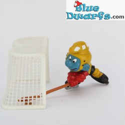 40505: Ice Hockey Smurf (Super smurf/ MIB)