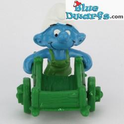 40206: Pitufo jardinero con carrio