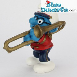 20484: Smurf with trombone (Band 2002)
