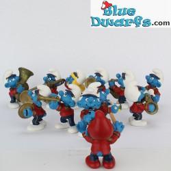 Smurf fanfare/ 12 smurfs  (Band 2002)