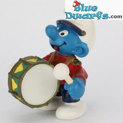 20494: Smurf with bass Drums (Band 2002)