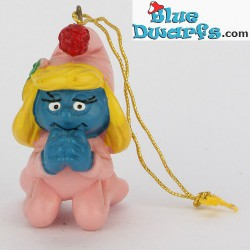 51911: Christmas Smurfette Praying