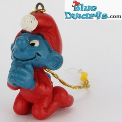 51910: Christmas Smurf Praying