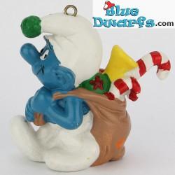51904: Christmas sack, Smurf carying