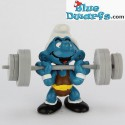 40507: Weightlifter Smurf (Supersmurf)