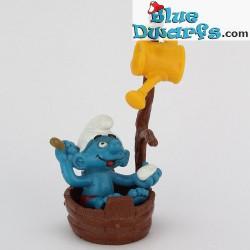 40235: Smurf in bad (supersmurf in plastic zakje)