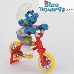40252: Puffo con Bicicletta (Super Puffo/MIB)