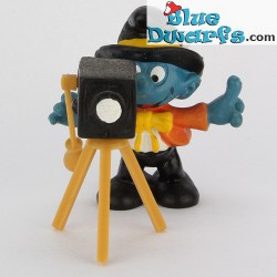 40217: Photographer Smurf *NEW STYLE* (Supersmurf/ MIB)